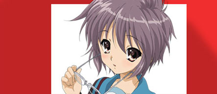 Yuki Nagato official site
