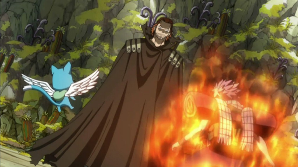 Natsu versus Gildarts Fairy Tail