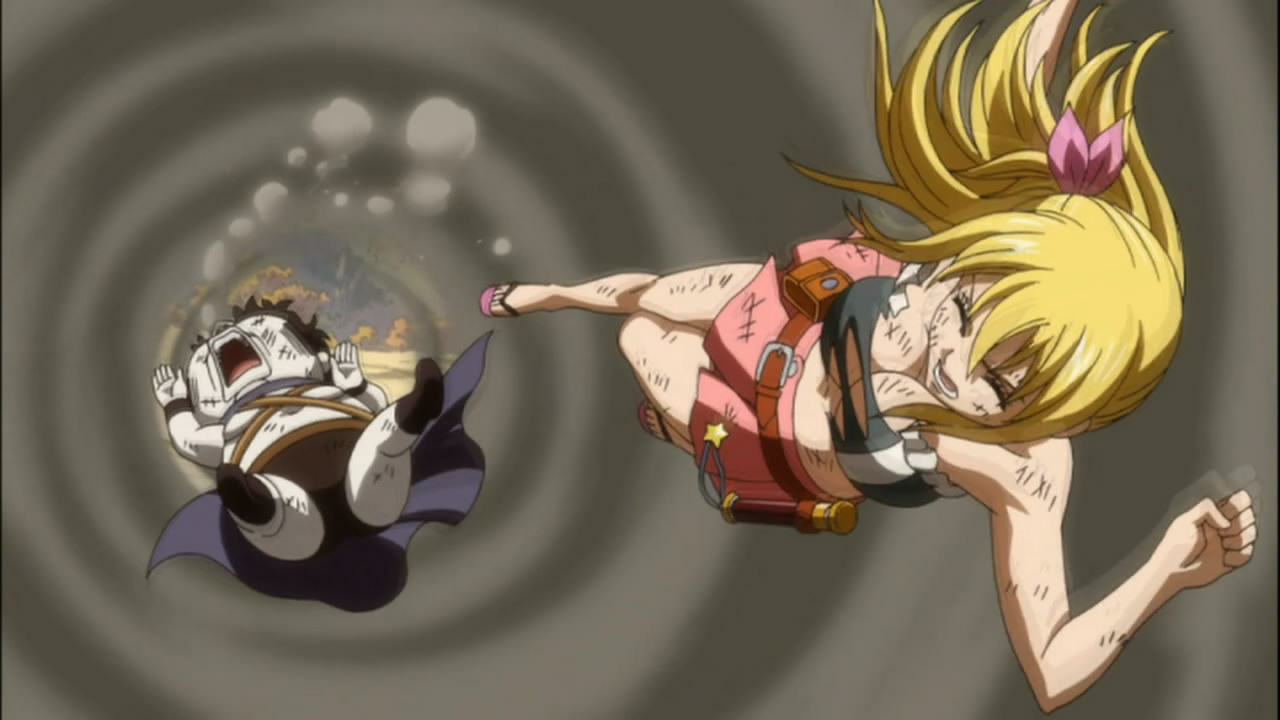 fairy tail lucy vs