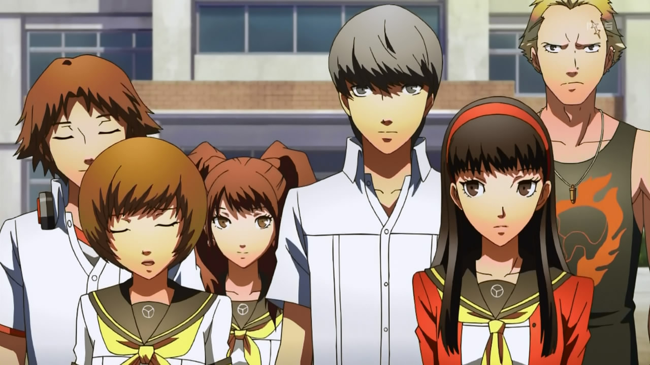 Persona 4 Anime Characters Database : Persona the golden animation thursdays at pm pdt