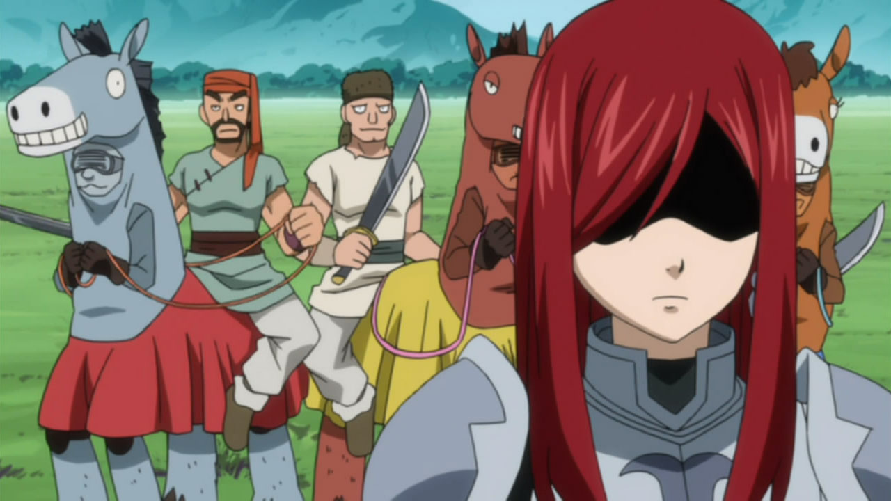 What Does She Do When Fairy Tail