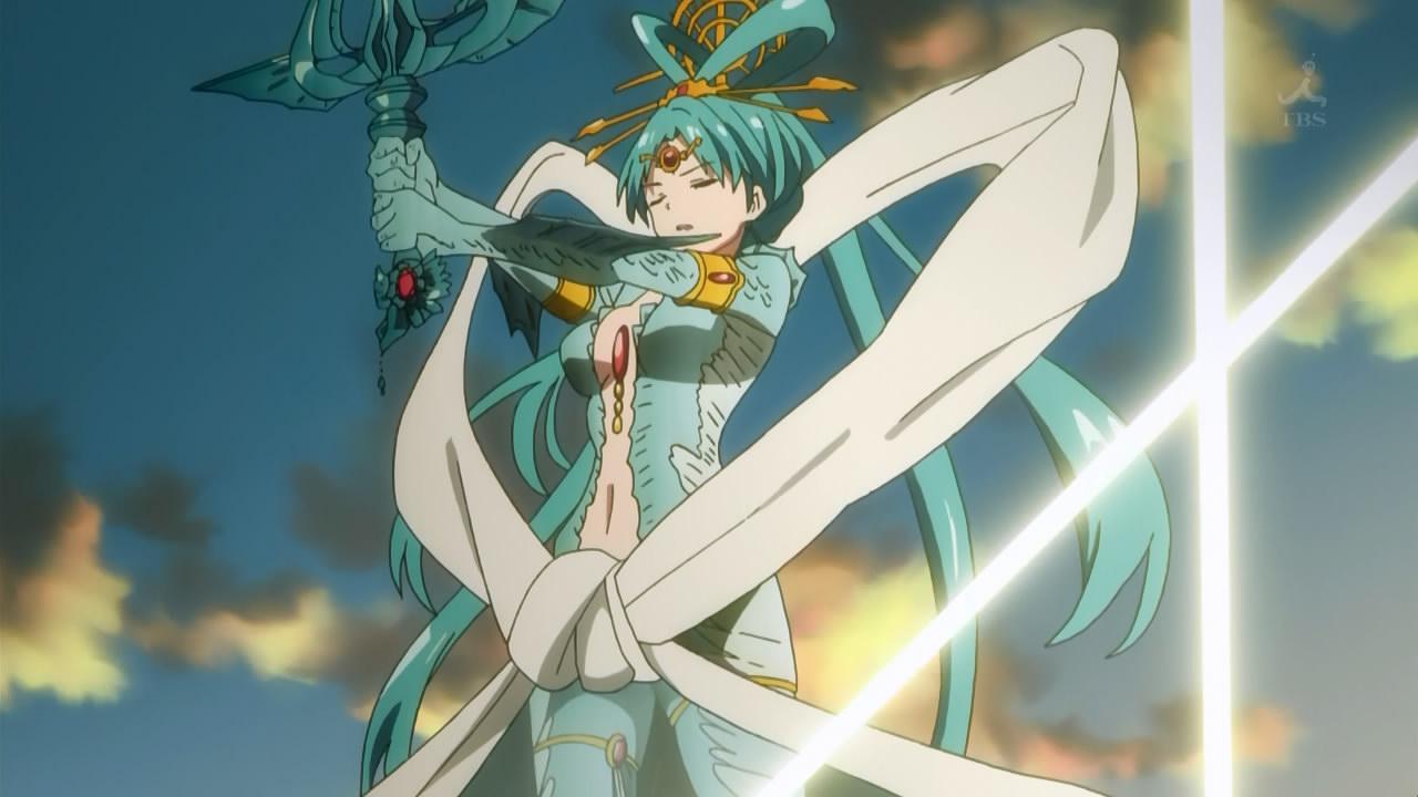 magi 25 final anime evo