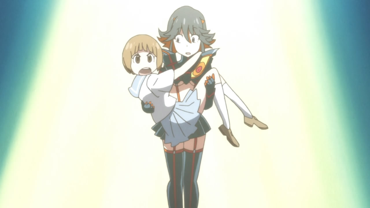 """Why I Don't Believe This """"Ship War"""" is About the Ships; Ryuko X Mako Kiss"""