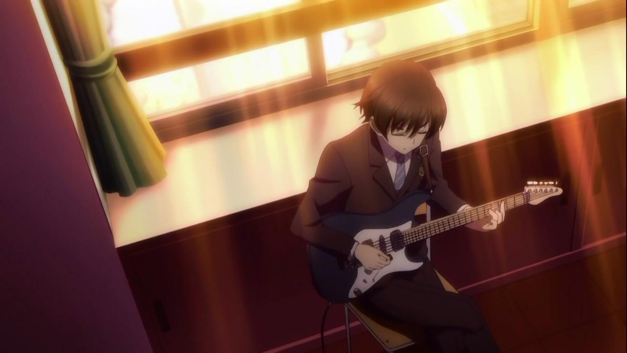 Kết quả hình ảnh cho White Album 2 anime play guitar