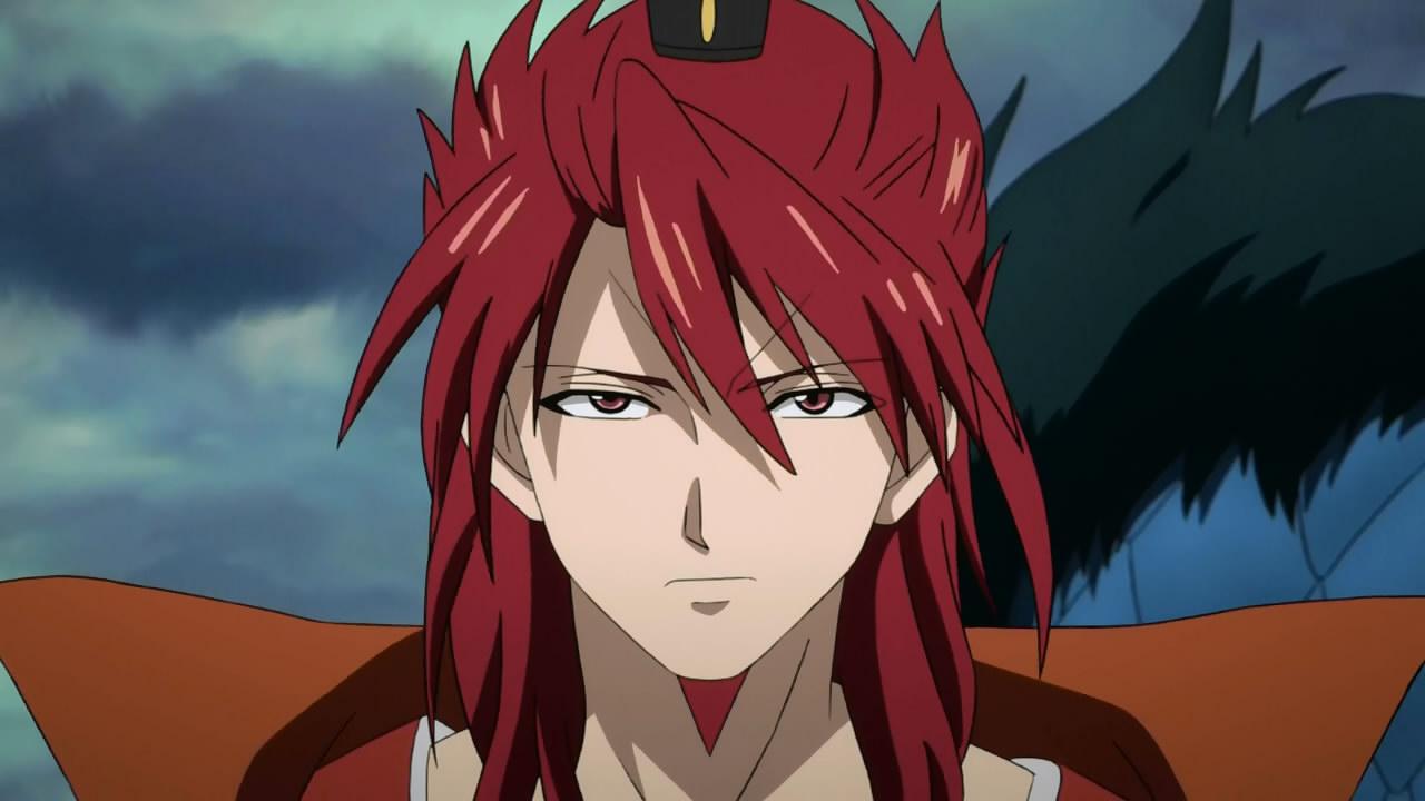 Anime Characters With Red Hair : Magi the kingdom of magic anime evo