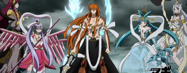 Magi Kingdom of Magic Characters Magi The Kingdom of Magic –