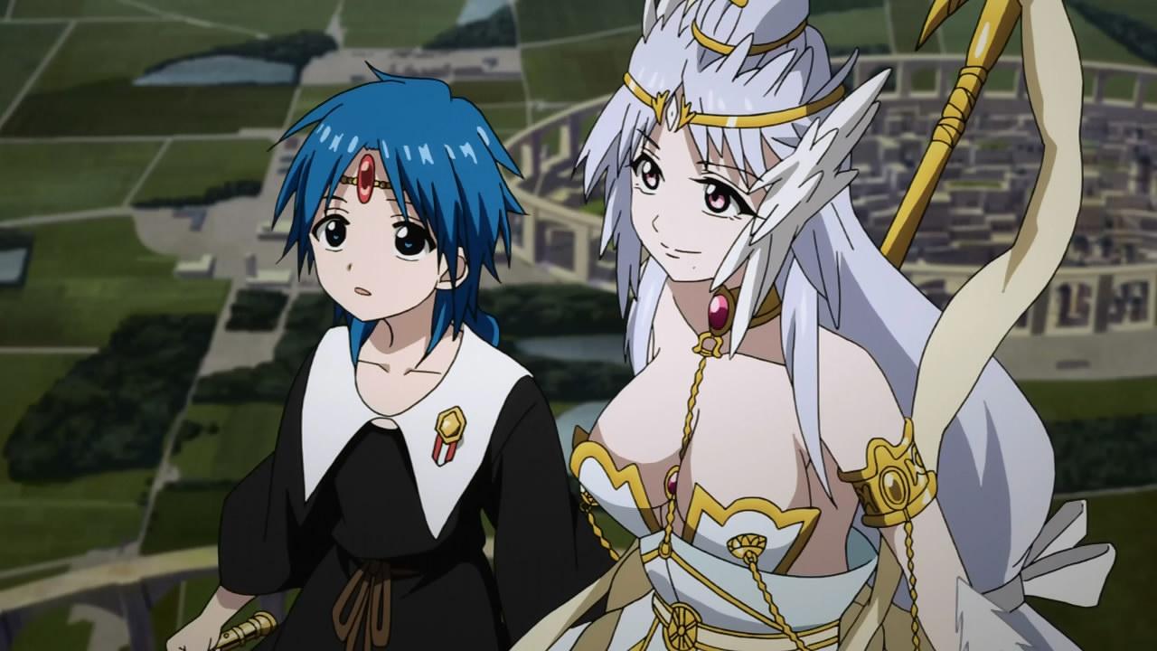magi the kingdom of magic 23 anime evo