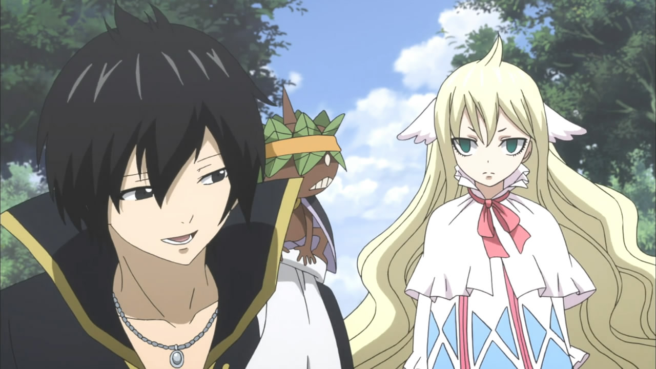 fairy tail zeref and mavis relationship questions
