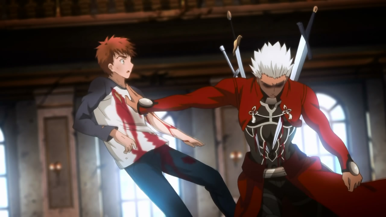 Fate Stay Night Unlimited Blade Works 21 Anime Evo
