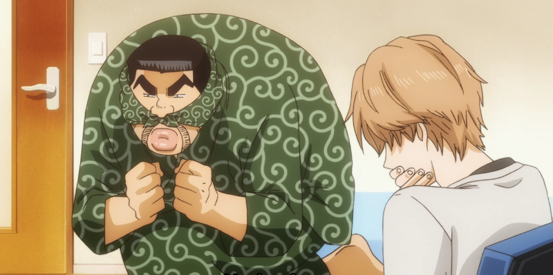 Takeo would make the best charades partner.