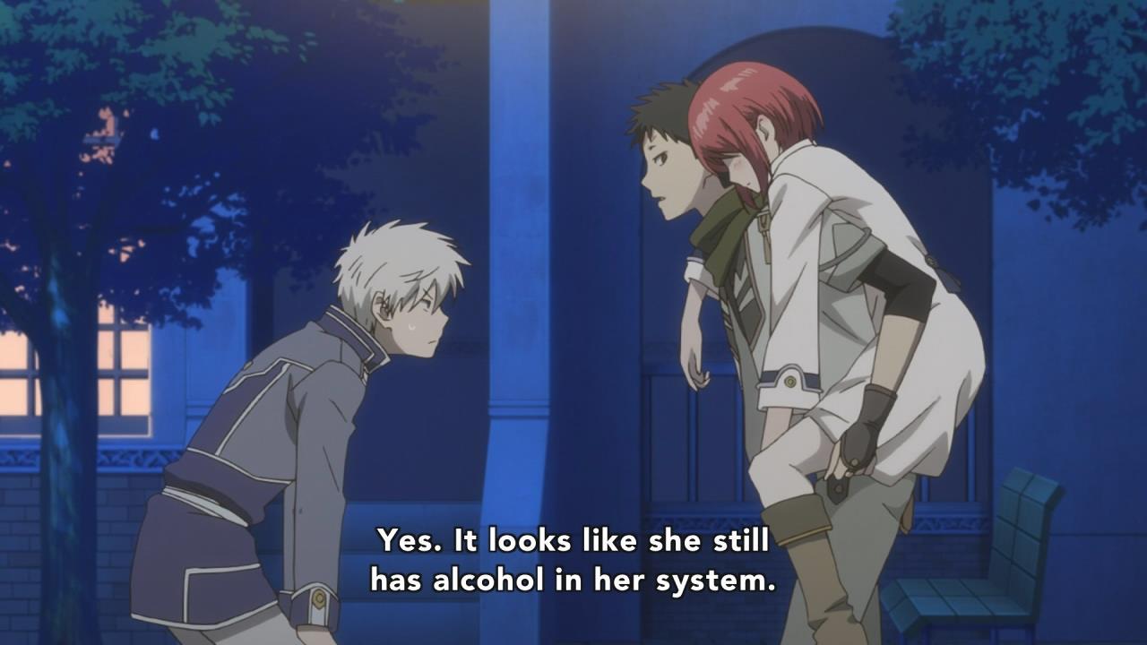 Akagami No Shirayuki Hime 09 Anime Evo