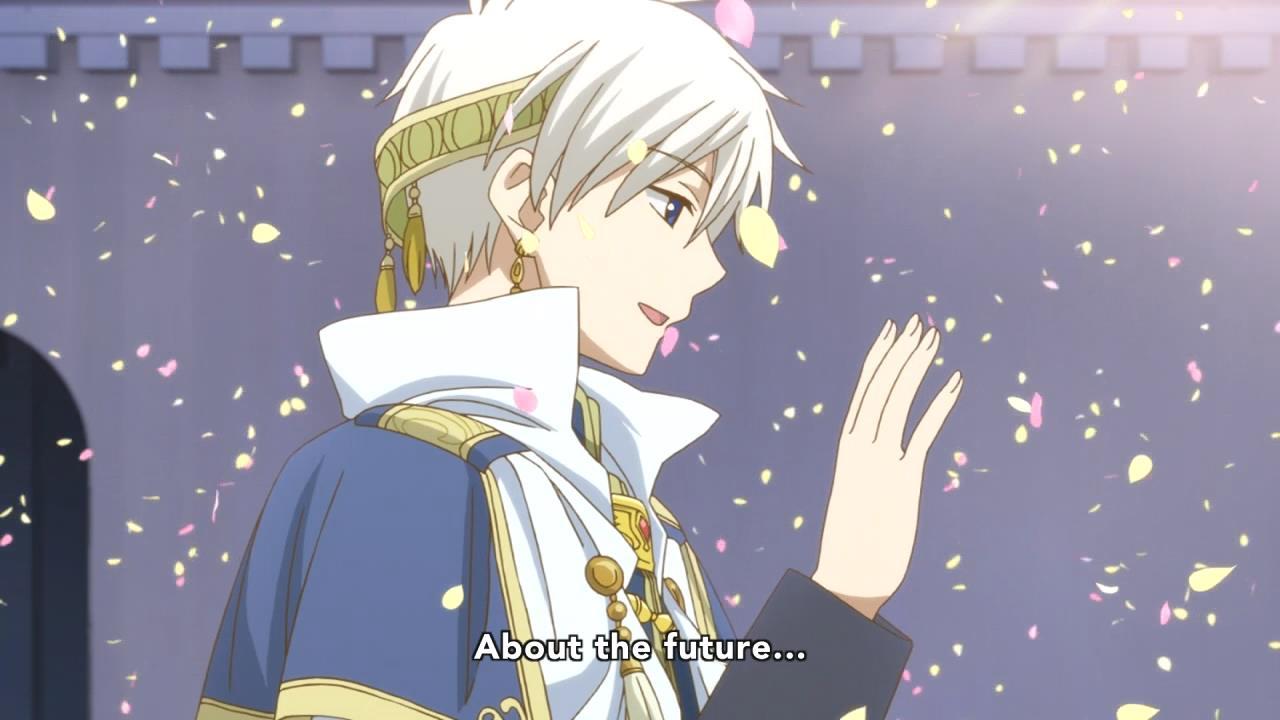 Akagami No Shirayuki Hime 12 Anime Evo