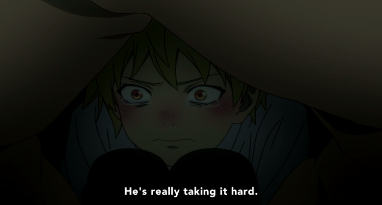 Continuing last week's PROTECT YUKINE, PROTECT HIM PLEASE campaign...
