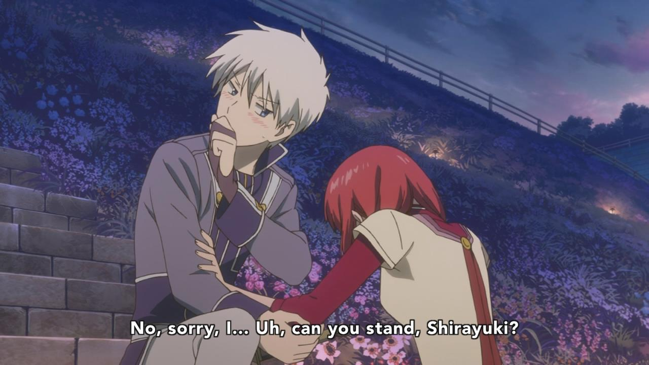 Akagami No Shirayuki Hime 24 End Anime Evo