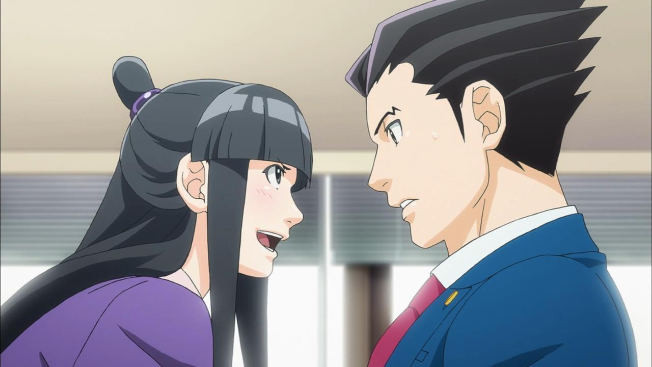 ace attorney 05 anime evo