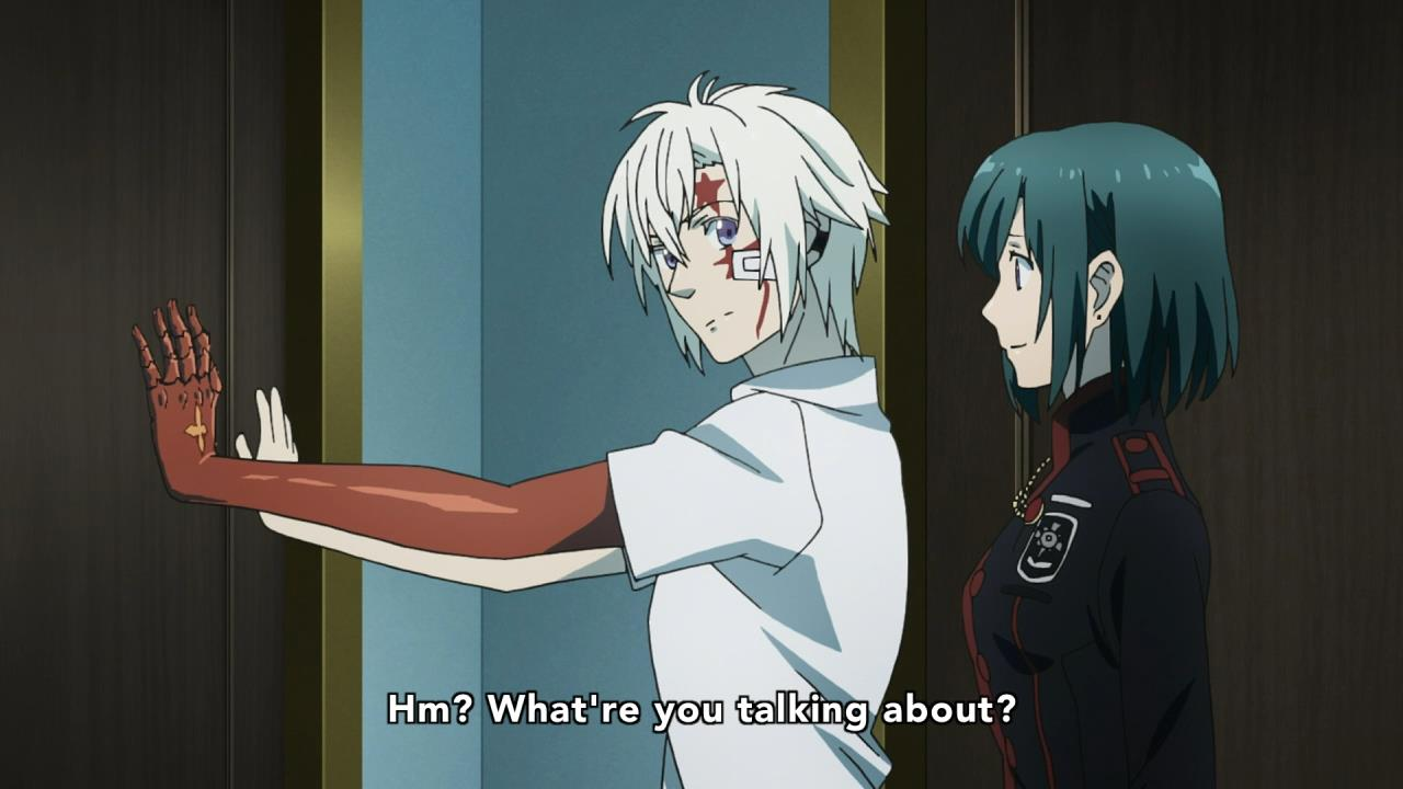 D Gray Man Anime Characters : D gray man hallow anime evo