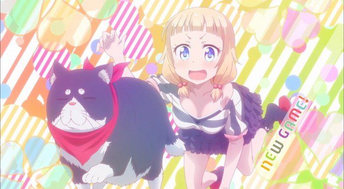 New Game 08 Anime Evo