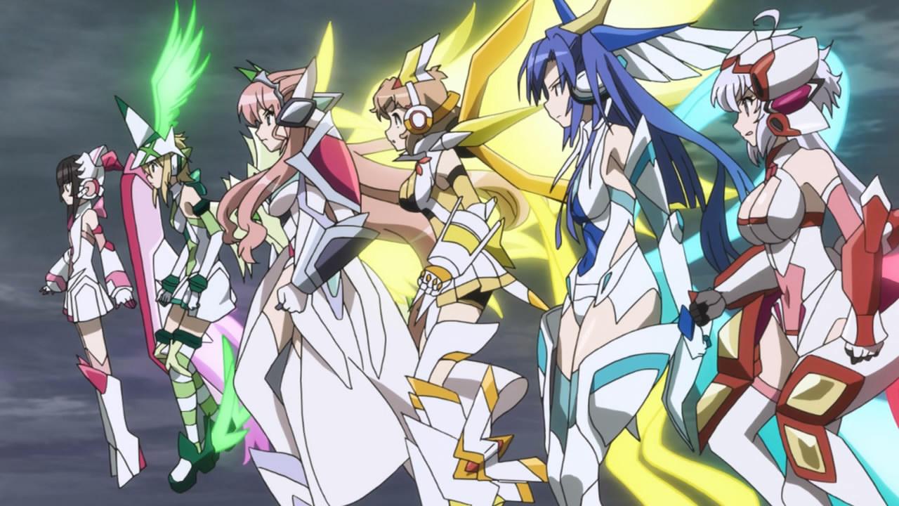 Kết quả hình ảnh cho Senki Zesshou Symphogear anime