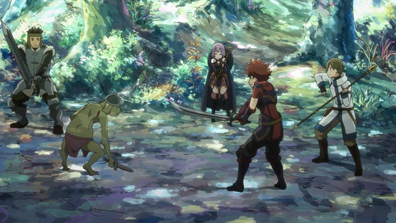 Hai To Gensou No Grimgar Review Anime Evo