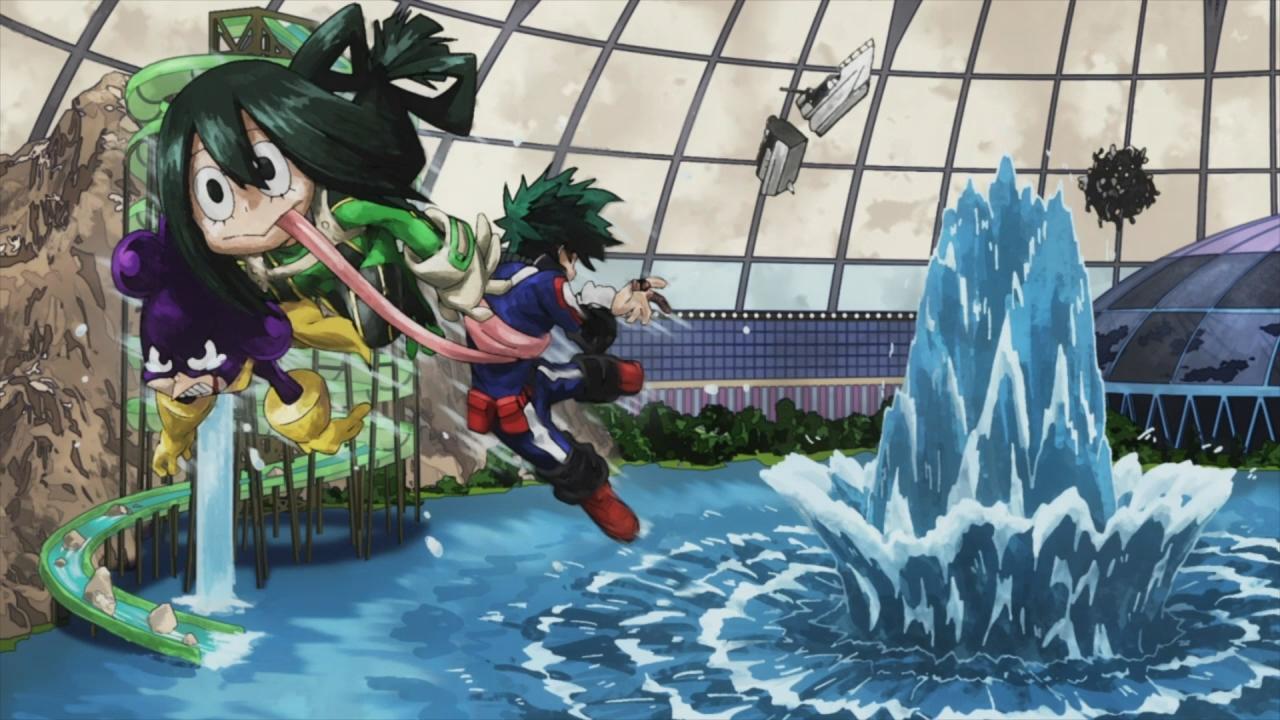 Boku No Hero Academia 10 Anime Evo