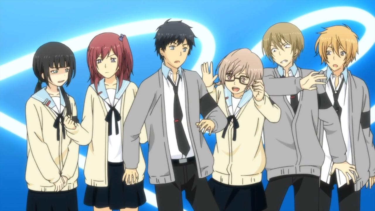 Résultats de recherche d'images pour «relife anime»
